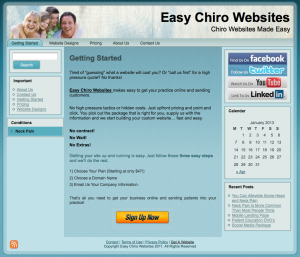 EasyChiroWebsites
